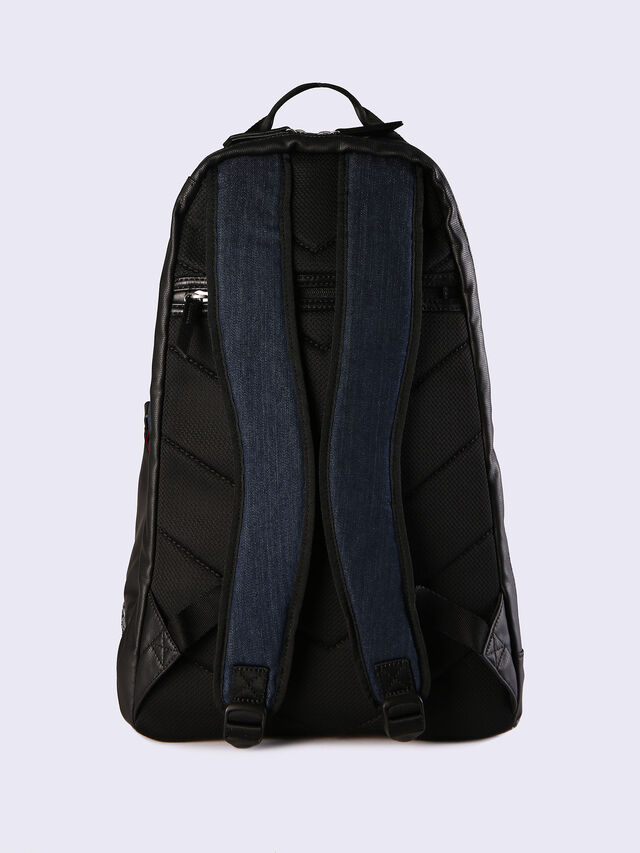 D-RUBBER BACK, Jeansblau