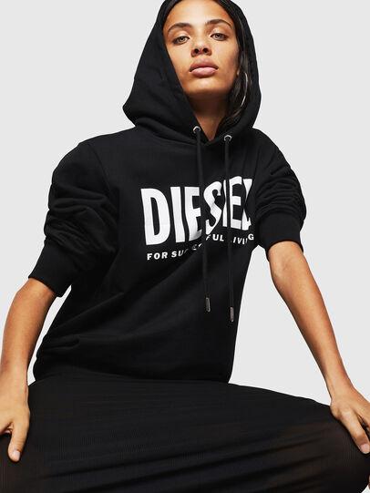 Diesel - F-GIR-HOOD-DIV-LOGO-,  - Sweatshirts - Image 4