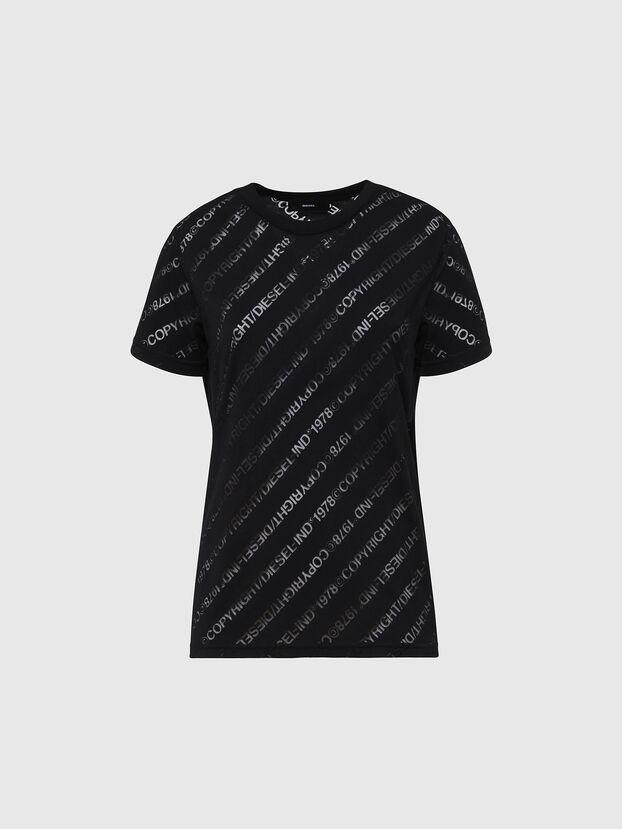 T-SILY-V22, Schwarz - T-Shirts