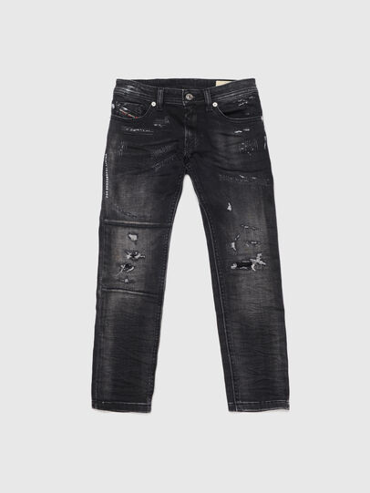 Diesel - THOMMER-J JOGGJEANS, Nero/Grigio scuro - Jeans - Image 1