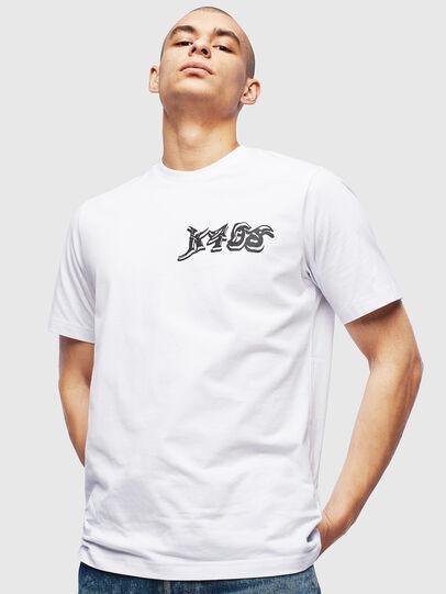 Diesel - T-JUST-T31, Weiß - T-Shirts - Image 1