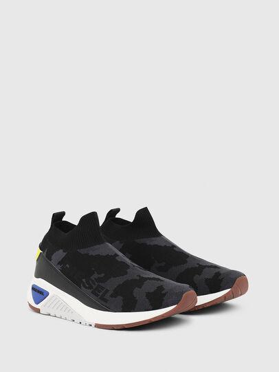 Diesel - S-KB SOCK QB, Schwarz - Sneakers - Image 2