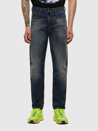 Diesel - D-Vider JoggJeans 069NT, Dunkelblau - Jeans - Image 1