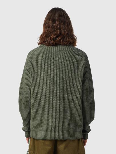 Diesel - K-CLEVELAND, Military Green - Knitwear - Image 2