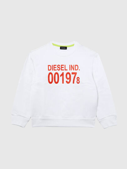 Diesel - SGIRKJ3 OVER, Weiß - Sweatshirts - Image 1