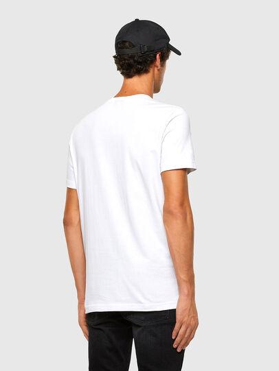 Diesel - T-DIEGOS-K32, Weiß - T-Shirts - Image 5