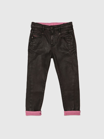Diesel - D-FAYZA-J JOGGJEANS, Schwarz/Rosa - Jeans - Image 1