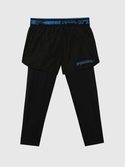 Diesel - UMLB-FAUST, Noir - Pantalons - Image 1