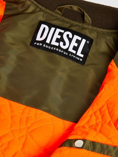 Diesel - J-UPPER, Vert Olive - Vestes - Image 6