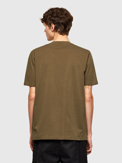 Diesel - T-JUSTEMB, Vert Militaire - T-Shirts - Image 2