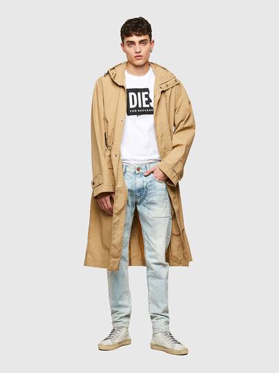 Diesel - T-DIEGOS-LAB, Bianco - T-Shirts - Image 4