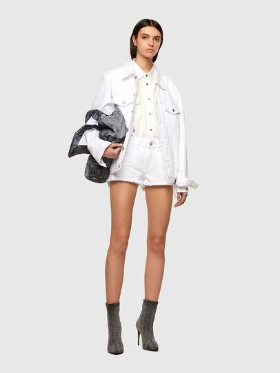 Diesel - DE-RIFTY, Blanc - Shorts - Image 5