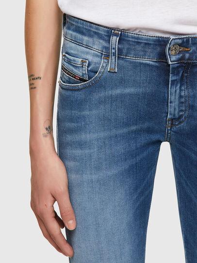 Diesel - Slandy Low 069ST, Blu Chiaro - Jeans - Image 3
