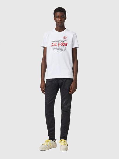Diesel - T-DIEGOS-B82, Blanc - T-Shirts - Image 4