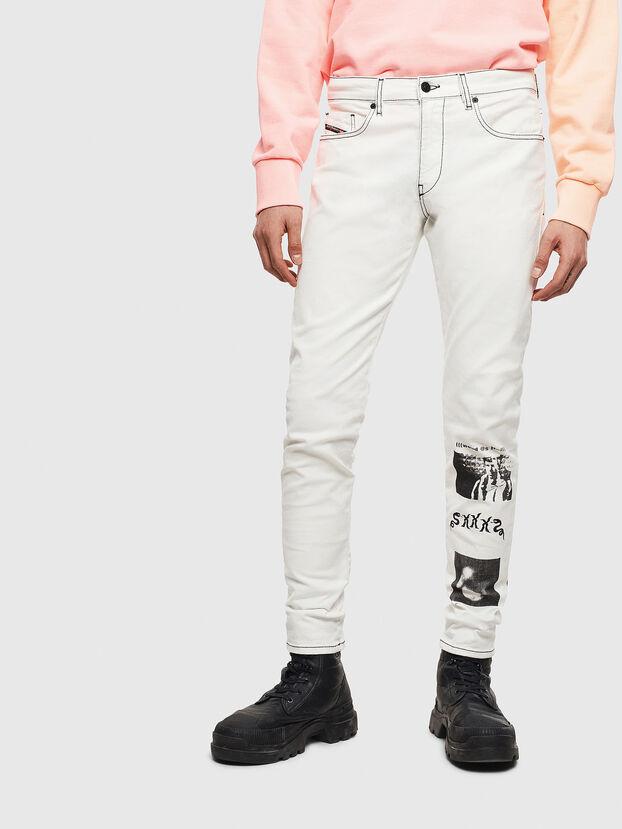 D-Strukt 009BF, Weiß - Jeans