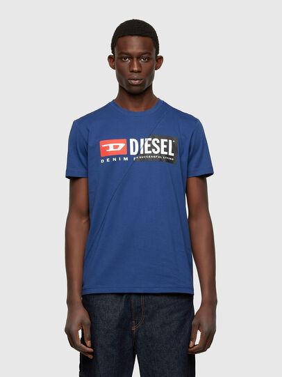 Diesel - T-DIEGO-CUTY, Blu - T-Shirts - Image 1