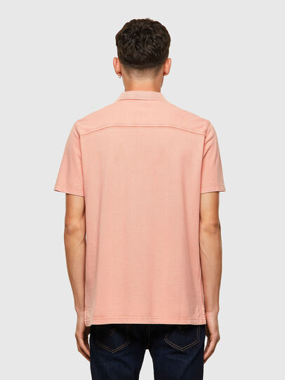 Diesel - T-POLO-WORKY-B1, Rose Poudré - Polos - Image 2
