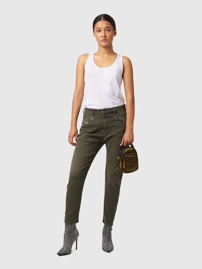 Diesel - Fayza JoggJeans® Z670M, Vert Militaire - Jeans - Image 4