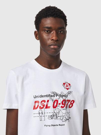 Diesel - T-DIEGOS-B82, Blanc - T-Shirts - Image 3