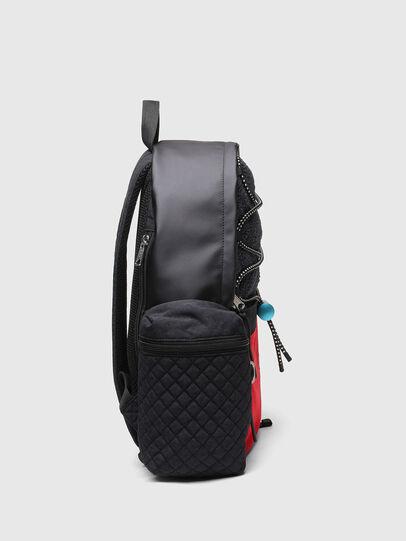 Diesel - YBEX, Black/Red - Backpacks - Image 3