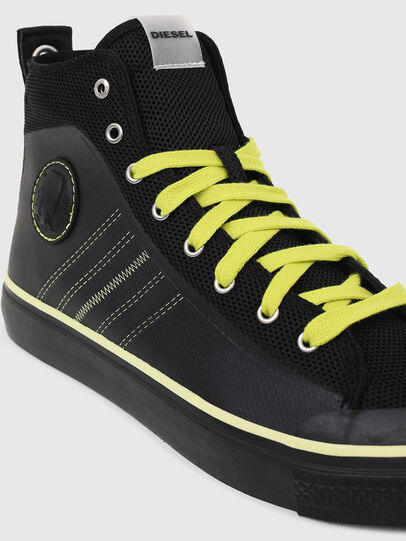 Diesel - S-ASTICO MC H, Schwarz/Gelb - Sneakers - Image 4