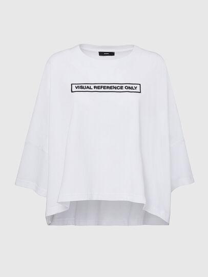 Diesel - T-CRAMBLE, Weiß - T-Shirts - Image 1