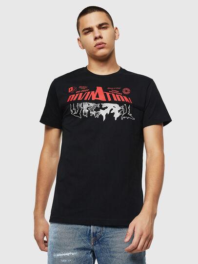 Diesel - T-DIEGO-B12, Schwarz - T-Shirts - Image 1