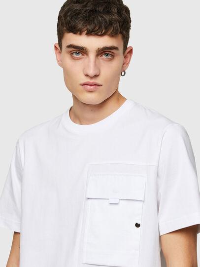 Diesel - T-WORKAN, Blanc - T-Shirts - Image 3