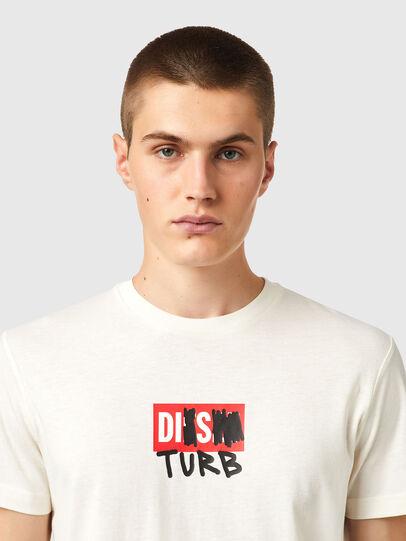 Diesel - T-DIEGOS-B10, Blanc - T-Shirts - Image 3