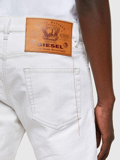 Diesel - D-Strukt 003AF, Bianco - Jeans - Image 4