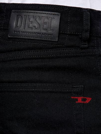 Diesel - D-Strukt 0688H, Schwarz/Dunkelgrau - Jeans - Image 4