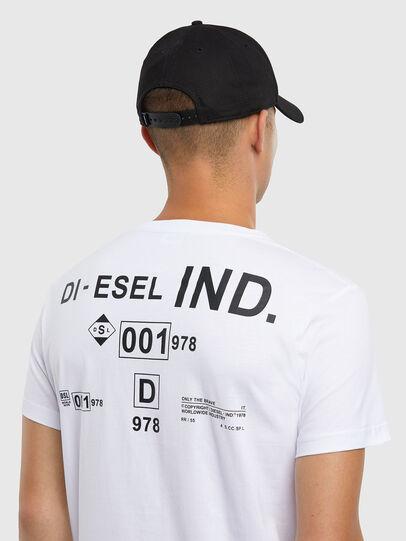 Diesel - T-DIEGOS-N21, Weiß - T-Shirts - Image 4