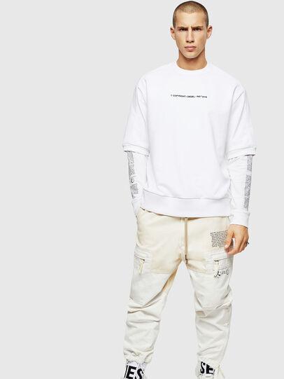 Diesel - S-MAGGY-SH-COPY, Weiß - Sweatshirts - Image 5
