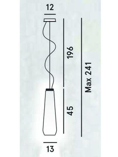 Diesel - GLAS DROP,  - Pendellampen - Image 2