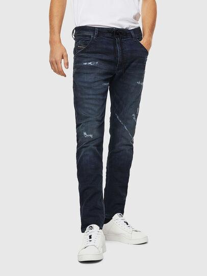 Diesel - Krooley JoggJeans 069KB, Dunkelblau - Jeans - Image 1