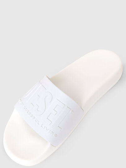 Diesel - SA-MAYEMI W, Blanc - Claquettes - Image 5