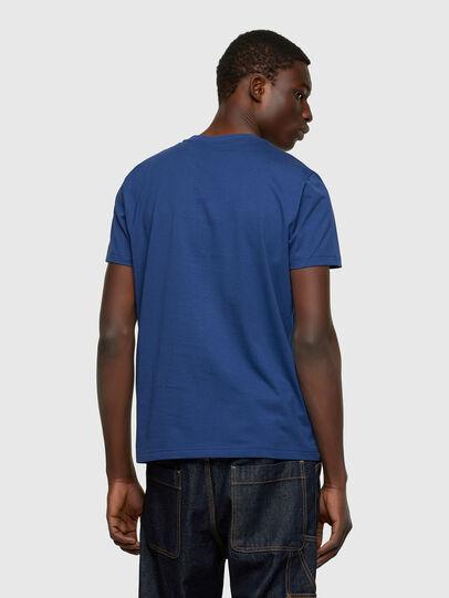 Diesel - T-DIEGO-CUTY, Blu - T-Shirts - Image 2