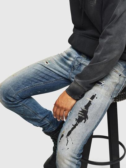 Diesel - Tepphar 0097M, Hellblau - Jeans - Image 4