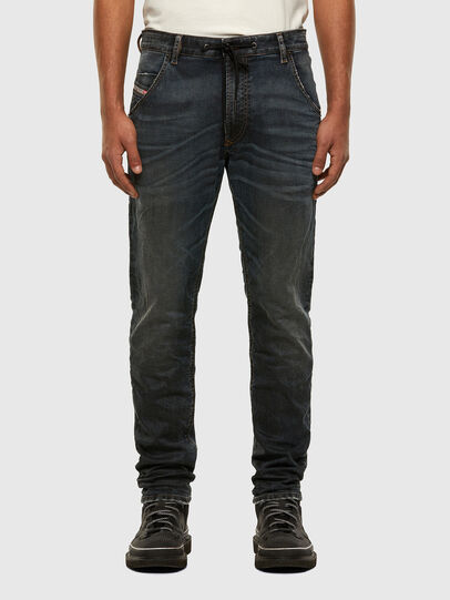 Diesel - KROOLEY JoggJeans® 069NS, Dunkelblau - Jeans - Image 1