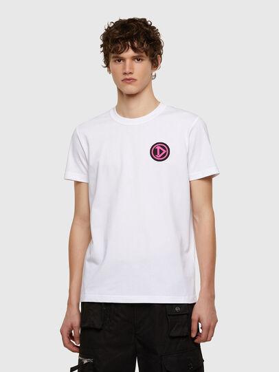 Diesel - T-DIEBIND-E1, Blanc - T-Shirts - Image 1