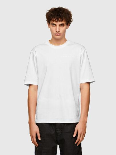 Diesel - T-GORAN-A1, Bianco - T-Shirts - Image 1