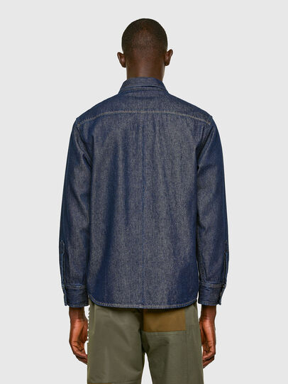 Diesel - D-RAPP, Bleu Foncé - Chemises en Denim - Image 2