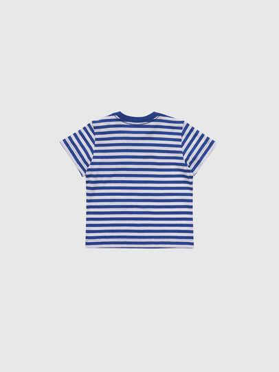 Diesel - TVIKB, Blau/Weiß - T-Shirts und Tops - Image 2
