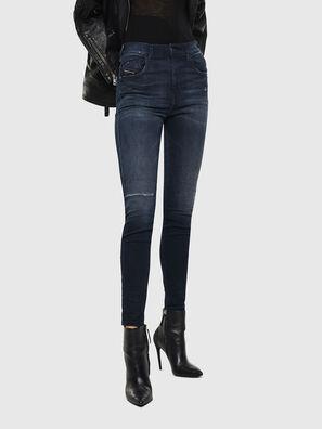Slandy High 0870C, Dunkelblau - Jeans
