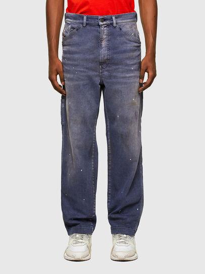 Diesel - D-Franky 009MC, Mittelblau - Jeans - Image 1