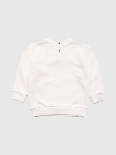 Diesel - SOOLB, Blanc - Pull Cotton - Image 2