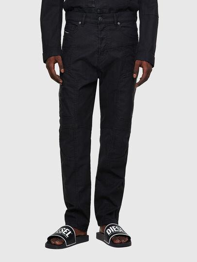 Diesel - D-VIDER JoggJeans® 0DDAX, Nero/Grigio scuro - Jeans - Image 1