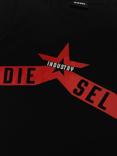 Diesel - TDIEGOA7, Schwarz - T-Shirts und Tops - Image 3