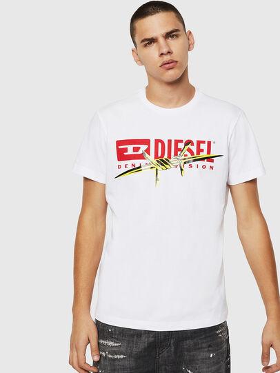 Diesel - T-DIEGO-BX2, Weiß - T-Shirts - Image 1