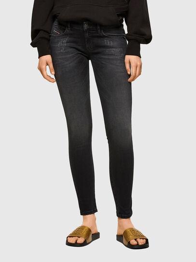 Diesel - Slandy Low 069SB, Black/Dark grey - Jeans - Image 1